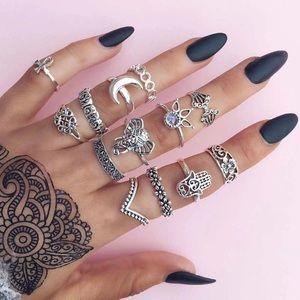 Hena Rings